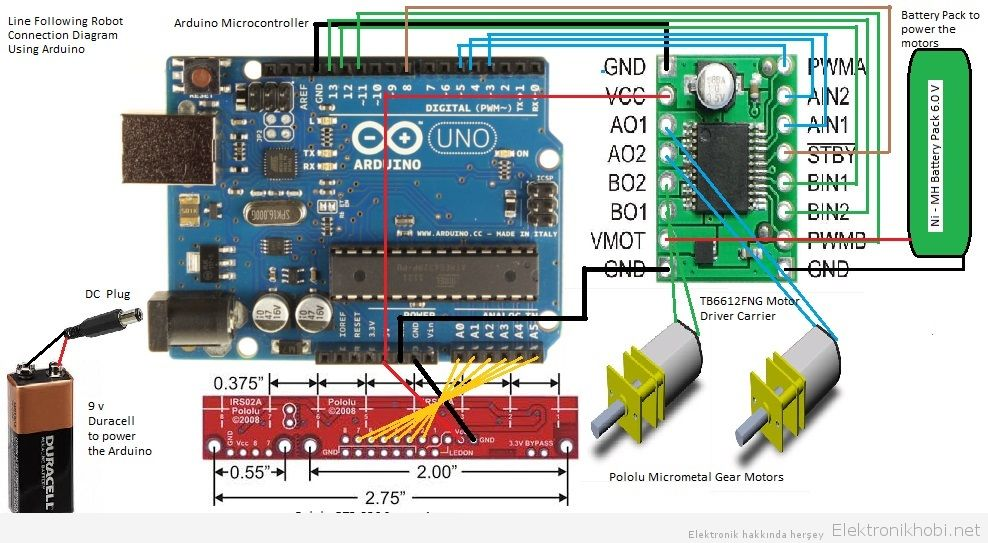 qtr arduino library Arduino library for the pololu qtr reflectance sensors arduino ide with pololu qtr sensors superimposed over it view entire document on a single page you can also view this document as a printable pdf.