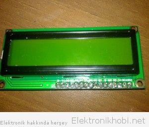 HD44780 Lehimleme