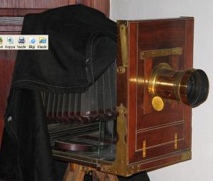 1800lü yılların  fotoğraf makinası