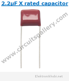 2.2uF+400V+X+rated+capacitor