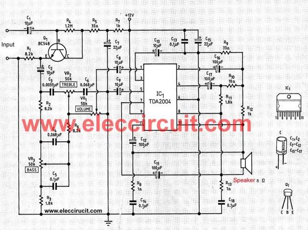 20 watt araba anfisielektronik hobi