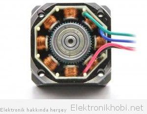 676_The inside of a bipolar stepper motor