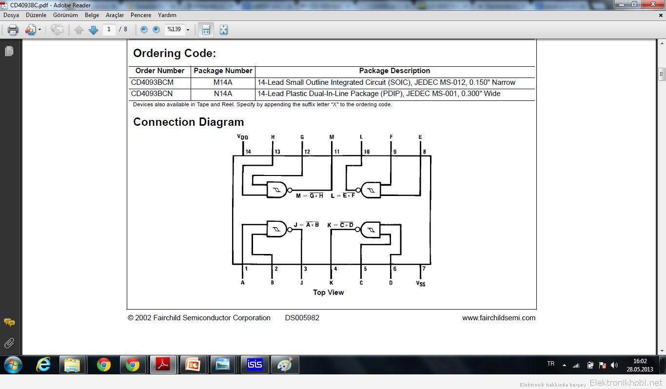 CD4093 Diagram