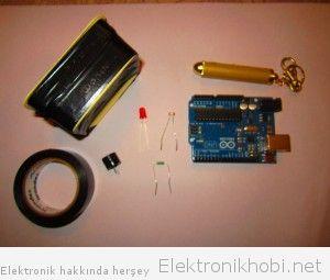 Lazer Güvenlik Sistemi Malzemeler