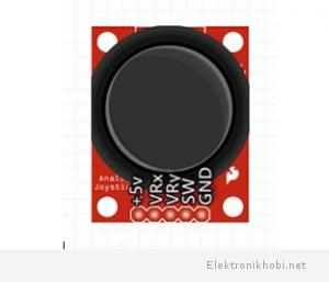 Joystick modülü pin yapısı