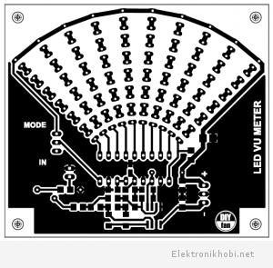 LED_VU_Meter_baski devre