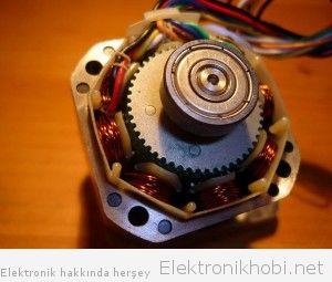 adım motorun iç yapısı