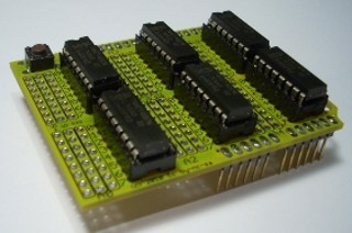 arduino analog input shield