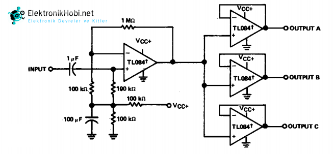 audio distrbution amplifier