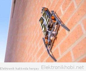 duvar tırmanan robot