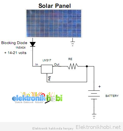 güneş paneli şarj devresi3