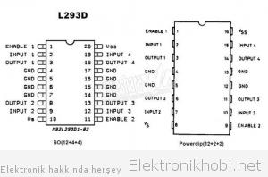 l293d bacak yapısı