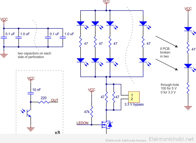 qtr-8rc elektronik şeması