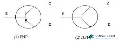 transistor sembolu